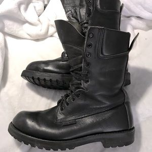 RCMP combat top quality leather boots